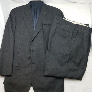Hickey Freeman Chuck Hines Suit Set 44L 38x31